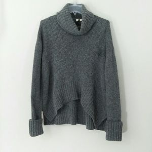 Anthropologie MOTH Oversized Turtleneck Sweater